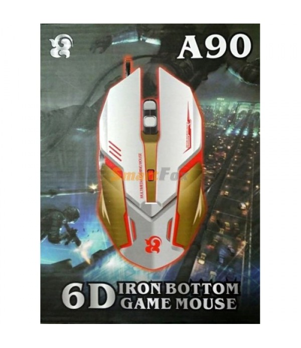 A90 Iron Bottom Optical Gaming Mouse
