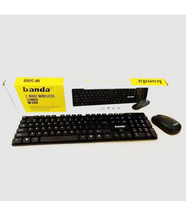 banda wireless keyboard mouse set