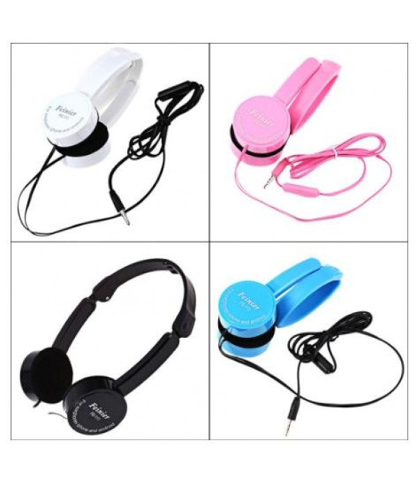 Fienier-116 Multicolour Foldable and Portable headphone with mic and stereo sound quality