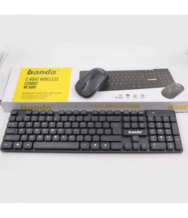 banda wireless keyboard mouse set